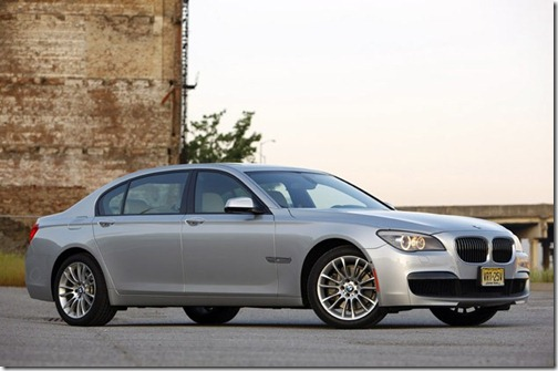 2011 BMW 740Li review
