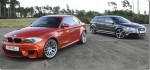 2011 BMW 1-Series M Coupe vs. 2011 Audi RS3 sportback on video