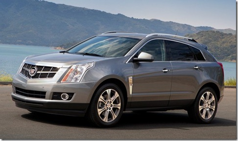 2012 Cadillac SRX gets pricing