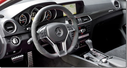 2012 Mercedes-Benz C63 AMG Coupe Black Series unveiled to the world interior