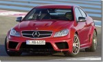 2012 Mercedes-benz C63 AMG makes a sound appearance