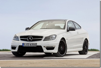 2012 Mercedes C63 AMG Coupe