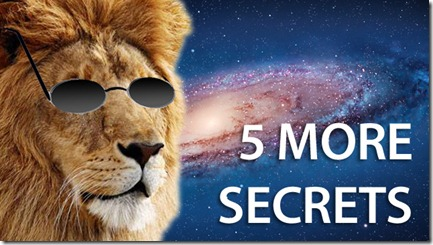 5 New Secrets Features in OS X Lion