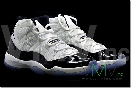 AIR JORDAN 11 CONCORD early look 2