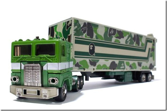 Bape and Transformers ABC Convoy toy truck