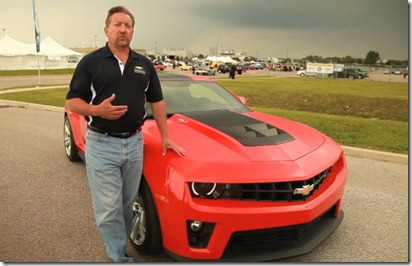 Chevrolet Camaro ZL1 gets some video time