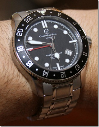 Christopher Ward C60 Trident GMT Watch Review