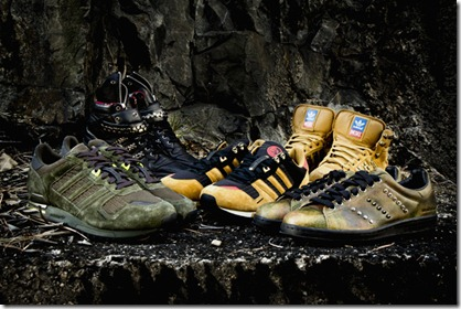 Diesel x adidas Originals 2011 Fall Winter Collection