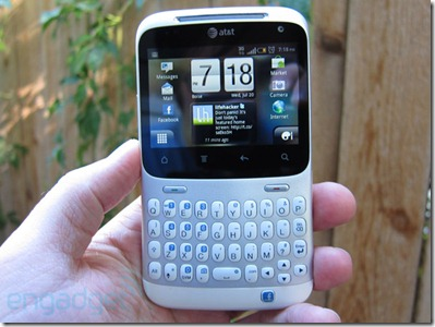 HTC Status review facebook phone