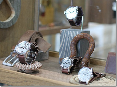 Horween for Nixon Watches & Accessories Spring 2012