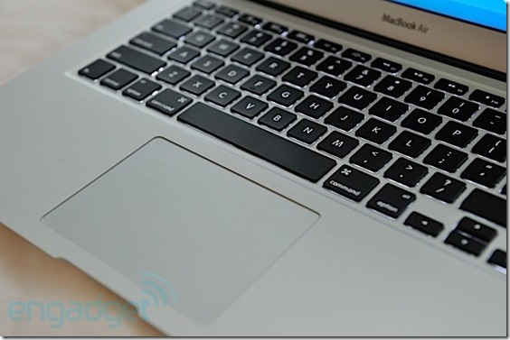 MacBook Air review os x lion 3
