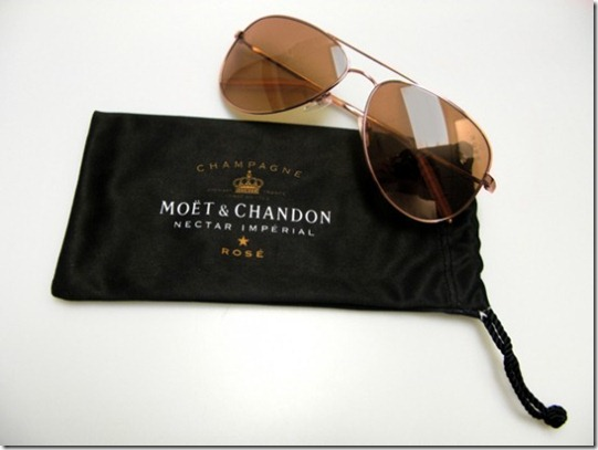 Moet & Chandon and Mosley Tribes – Limited Edition Moet Rose Sunglasses 2