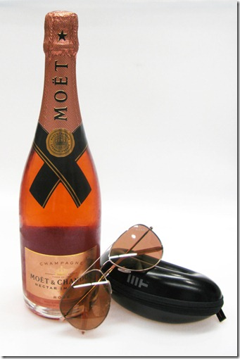Moet & Chandon and Mosley Tribes – Limited Edition Moet Rose Sunglasses 3