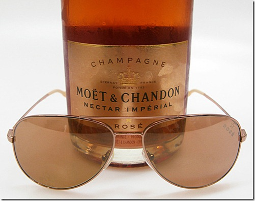 Moet & Chandon and Mosley Tribes – Limited Edition Moet Rose Sunglasses