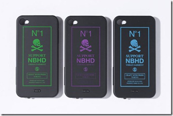 "NEIGHBORHOOD ""SUPPORT NBHD"" iPhone 4 Case"