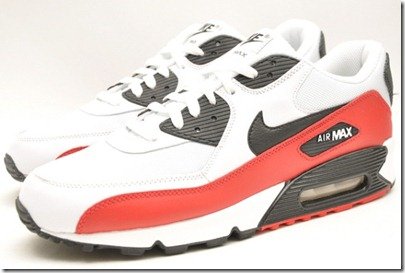 Nike Air Max 90 – White Red-Black 2