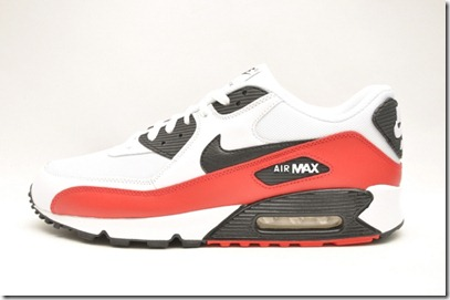 Nike Air Max 90 – White Red-Black