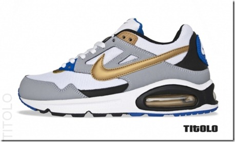 Nike Air Max Skyline – White Metallic Gold-Wolf Grey