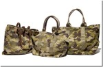 Rugby Ralph Lauren Limited Edition Camo Skull Tote Bags
