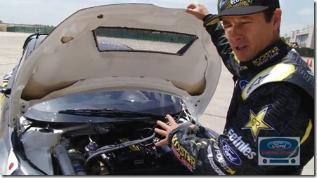 Tanner Foust X Games 17 Fiesta Rallycross Walkaround Video