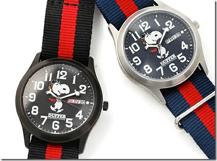 The Duffer of St. George Snoopy Military Watch