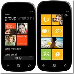 WP7 Mango Beta 7712 features on video