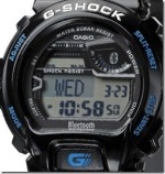new G-Shock features Bluetooth, water resistant and shock resistant