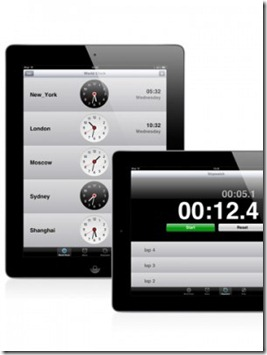 iStandard Clock for iPad