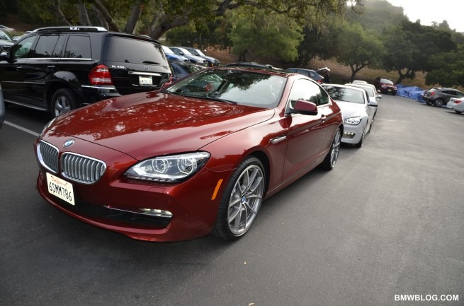 2012 BMW 650i Coupe with MSport Package caught on video