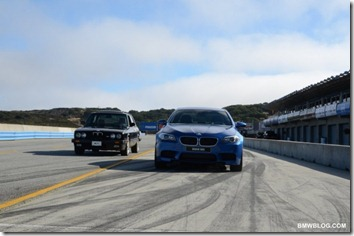 2012 BMW M5 at Laguna Seca