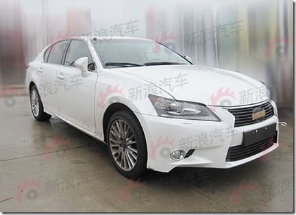 2013 Lexus GS Revealed early 2