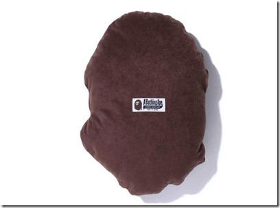 A Bathing Ape Bape Head Flannel Cushion 2