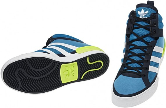 newest 2cfa6 6556b Adidas Originals Crazylight Top Court – Sharp Blue-White Dark Indigo 2 ...