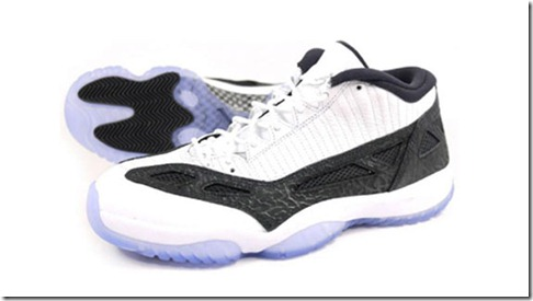 Air Jordan 11 IE Low – White Black 2