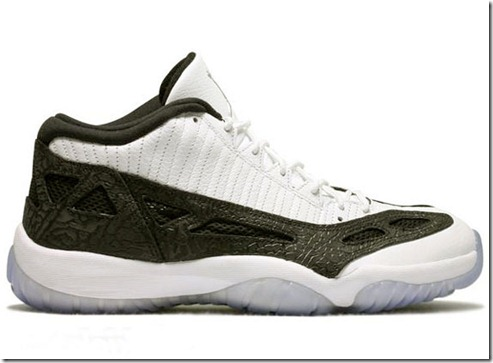Air Jordan 11 IE Low – White Black