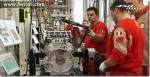 Assembly of the Ferrari 458 Italia engine video
