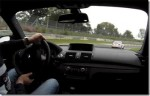 BMW 1M Coupe chases M3 CSL around the Nürburgring