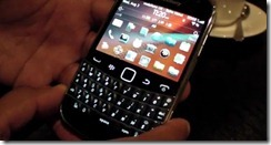 BlackBerry 7 Smartphones Hands-on video