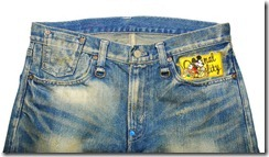 CLOT Dynasty Mickey Mouse Patch Denim 3