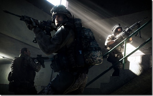 Complete list of Battlefield 3's weapon roster