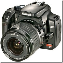 Control Canon DSLRs by an Android app