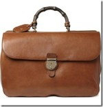 Gucci Leather Holdall