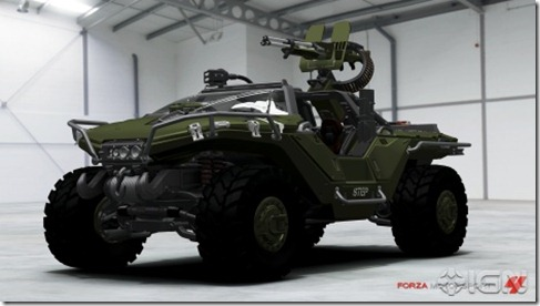 Halo Warthog shows up in Forza 4