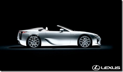 Lexus LFA Roadster to show face in 2014