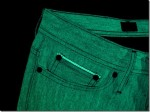 Naked & Famous Glow In The Dark selvage Raw Denim