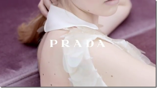 Prada's fall campaign video