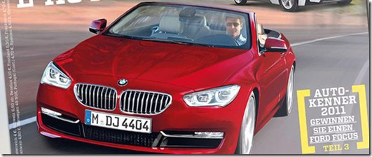 Rendering BMW 4 Series Convertible