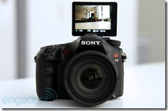 Sony Alpha A77 hands-on preview