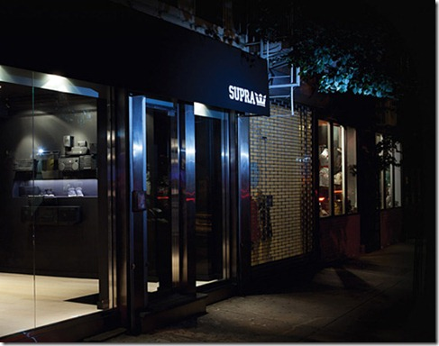 Supra First U.S. Store Opens in New York