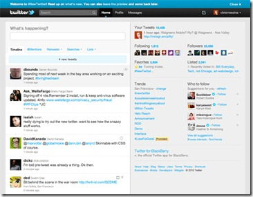 Twitter launches HTML5 mobile site for iPad